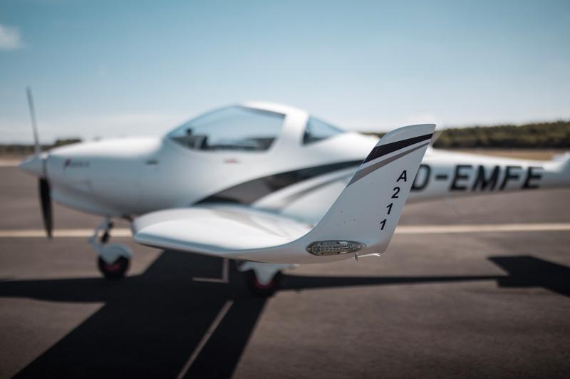 Aquila A211GX Motorflugschule Egelsbach