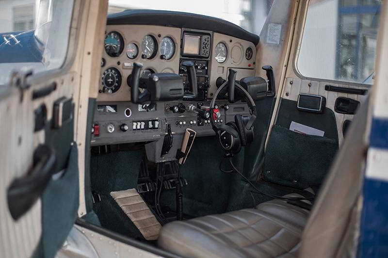 Cessna C-152 Motorflugschule Egelsbach