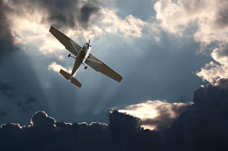 Cessna C-172 Motorflugschule Egelsbach