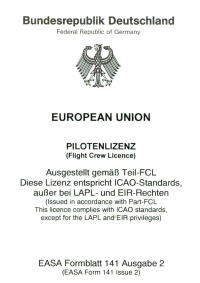 EASA-Lizenz